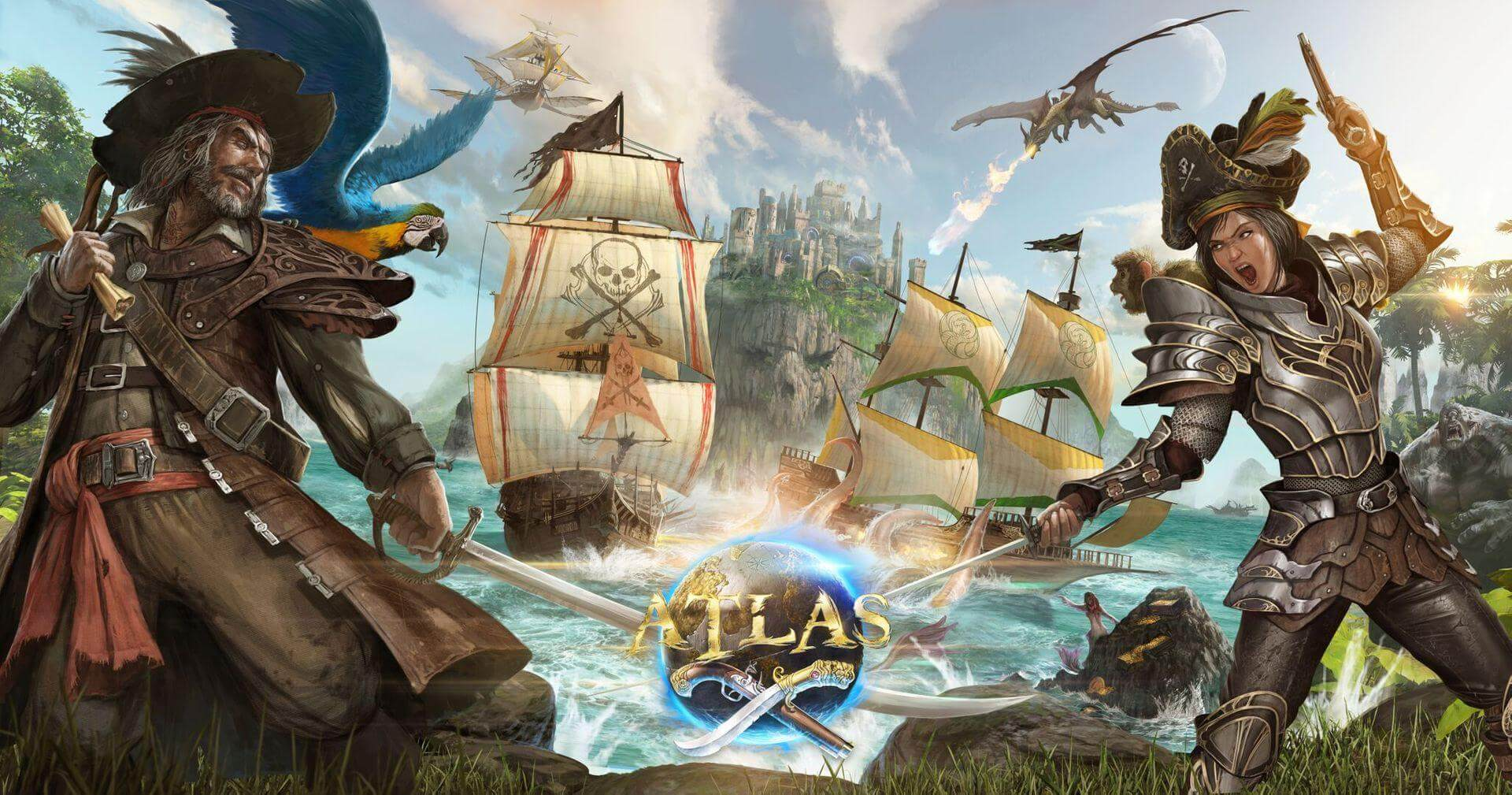 ATLAS Piraten MMO Artwork