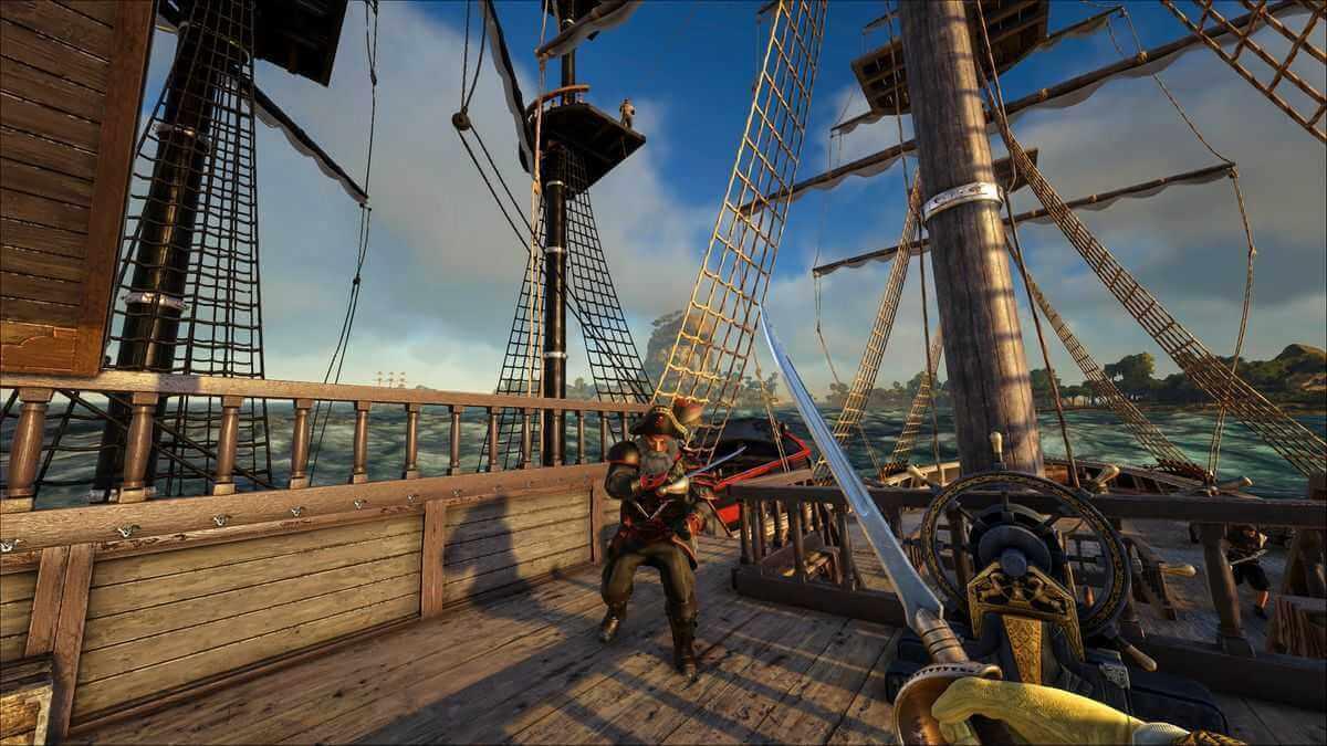 ATLAS Piraten MMO Screenshot: Piraten im Duell