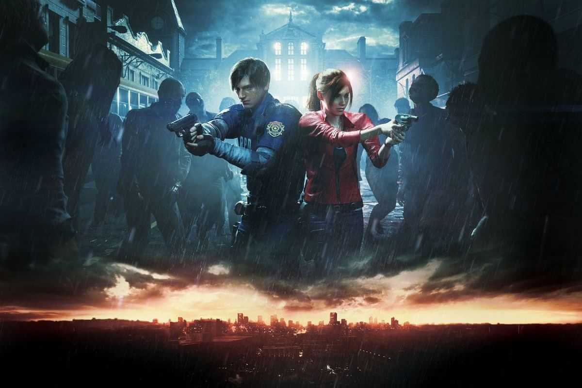 Resident Evil 2 Remake 2019 Artwork