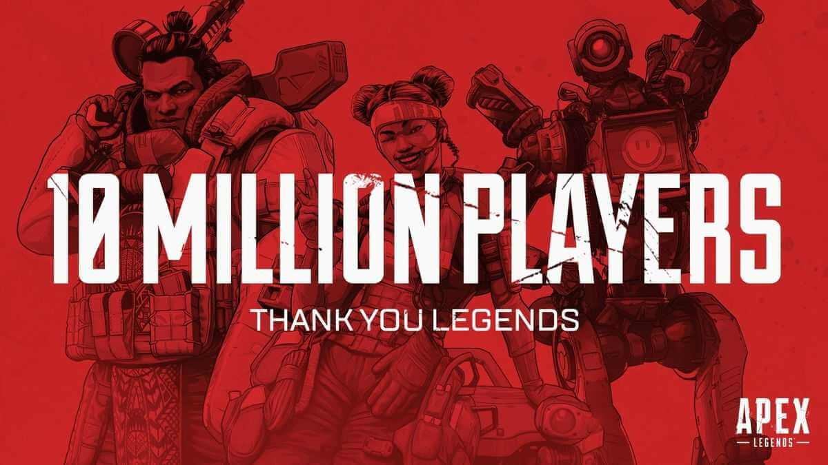 Apex Legends 10 Millionen Spieler