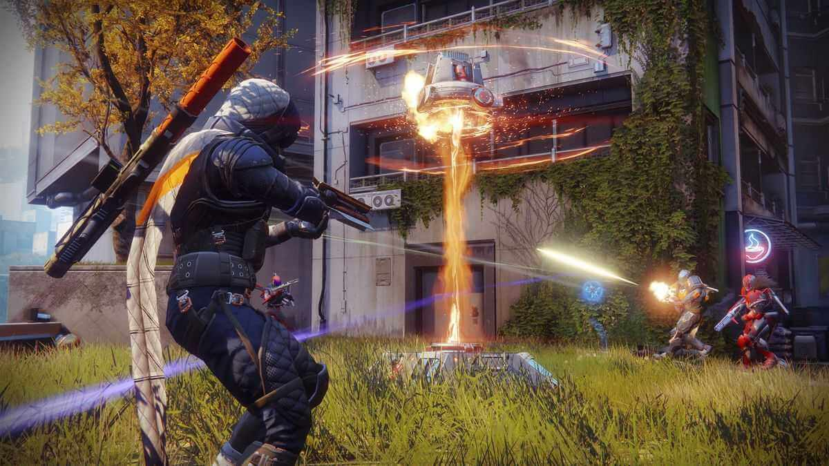 Destiny 2 Ingame Screenshot Shooting