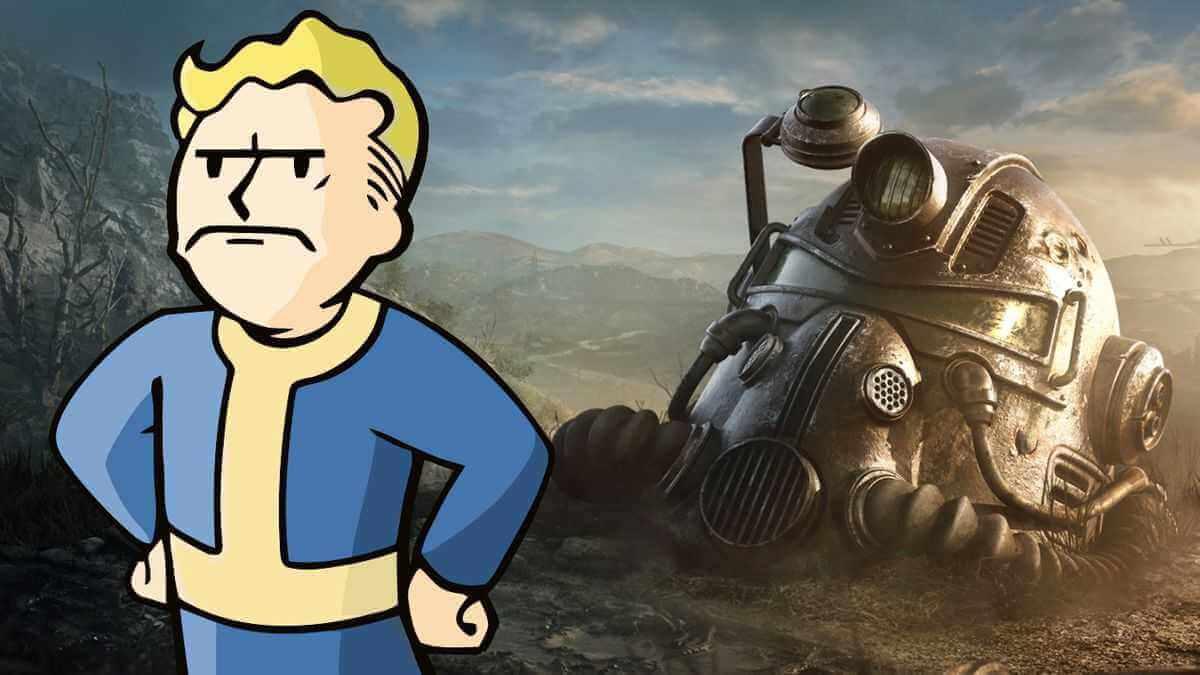 Fallout 76 - Vault Boy schlecht gelaunt