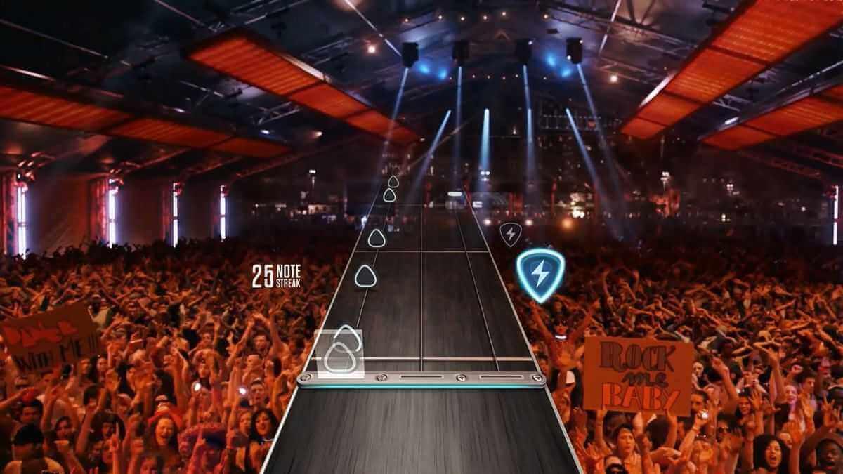 Guitar Hero Live Screenshot Konzert