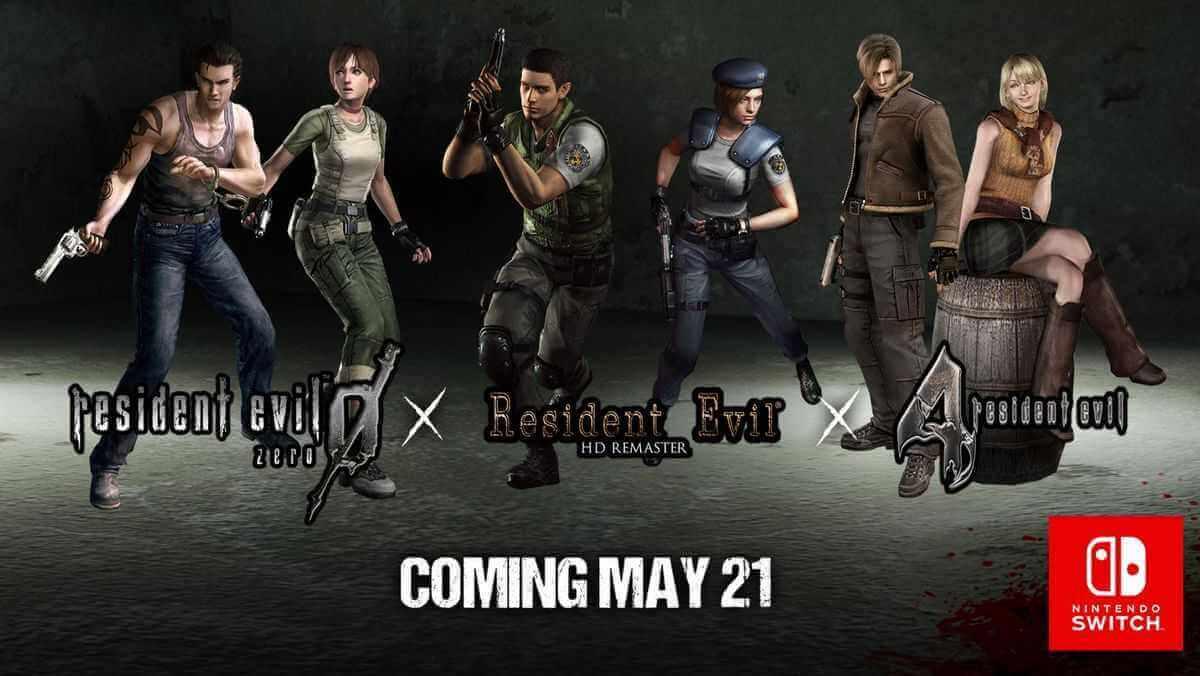 Resident Evil 9, 1 und 4 erhalten Releasedatum für Nintendo Switch