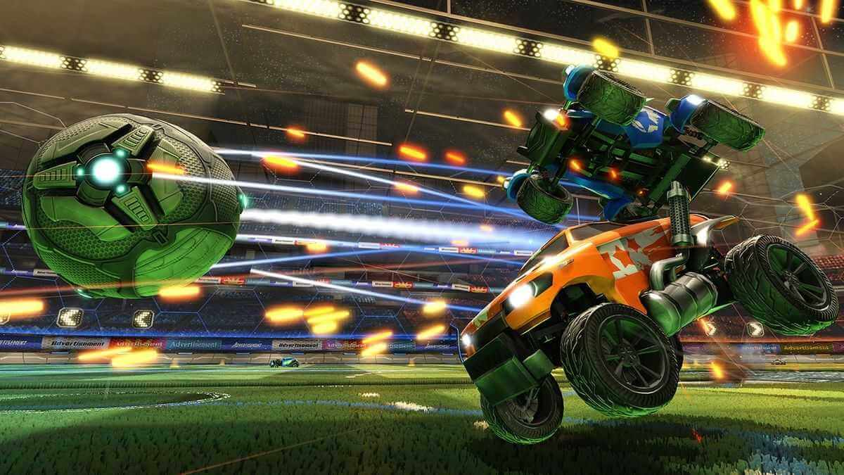 Rocket League Screenshot Ball Match