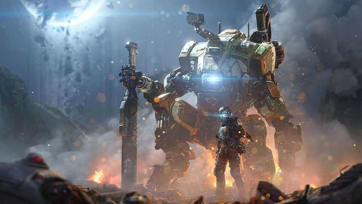 Titanfall 2 Artwork - Titan Wallpaper Art