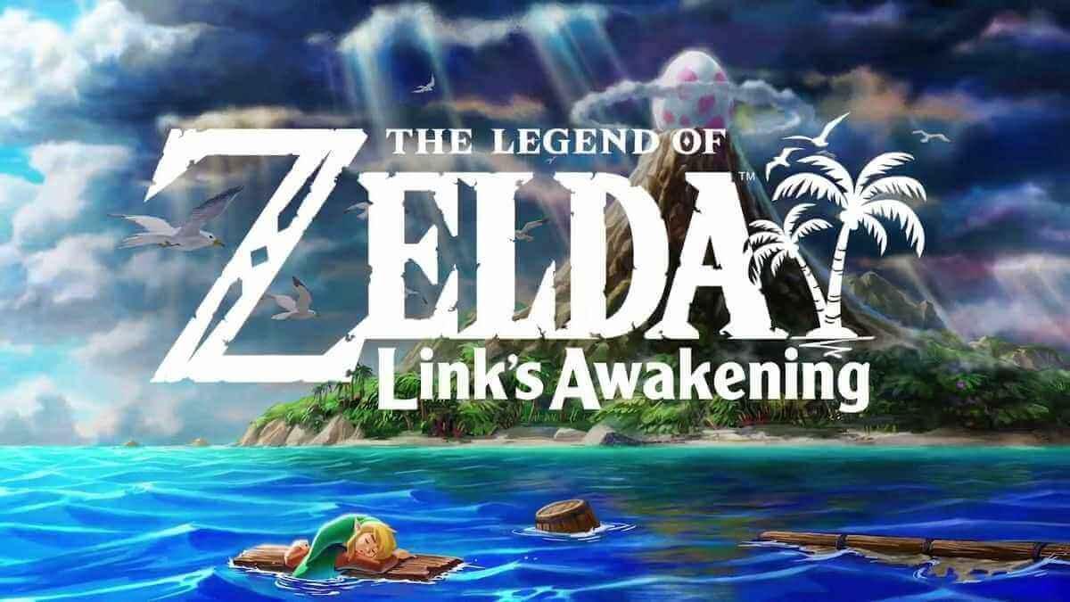 Zelda: Link's Awakening Artwork und Logo