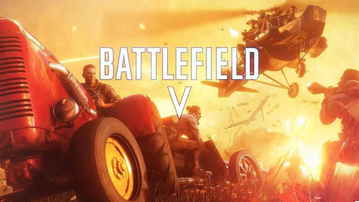 Battlefield V Firestorm Artwork