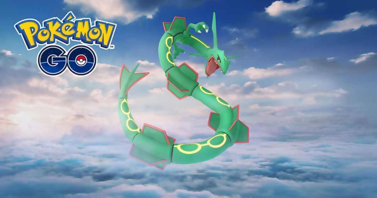 Pokémon GO: Rayquaza kehrt in Raids zurück