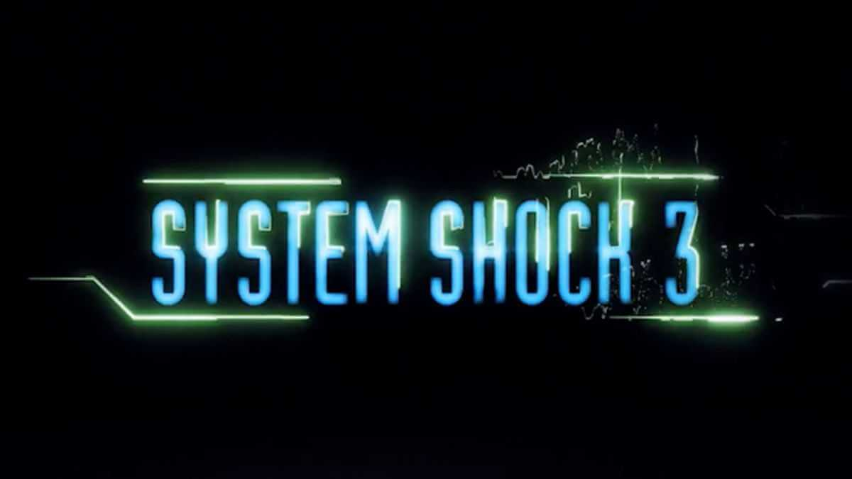 System Shock 3 Teaser Trailer Logo