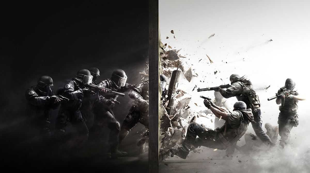 Tom Clancy's Rainbow Six: Siege - Action Artwork